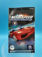jeu video notice BE nintendo gamecube FRA need for speed poursuite infernale 2