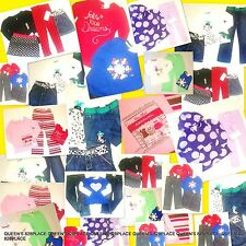 Nwt Girls Gymboree Gap lot 5 5T fall Winter Clothes Set tops jeans Outfit $450