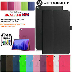Leather Stand Flip Cover Tablet Case for Samsung Tab A7 T500 2020 / Tab A T510