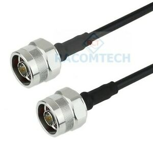 Low loss Coaxial Cable LL240 LMR240 Equiv with N(male) / N(male)