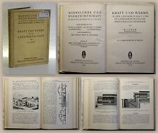 Leder Kraft & Wärme in der Landwirtschaft 1930 Wärmelehre Thermodynamik xz