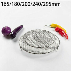 Round Stainless Steel Cake Cooling Rack Wire Cooler Baking Cool Tray Net