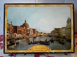 Philmar Jigsaw Puzzle Masterpiece Grand Canal Venice by Canaletto 850 Pce Rare
