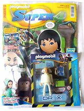 DR. X (Revista nº 9 + Figura Exclusiva) Playmobil Super 4