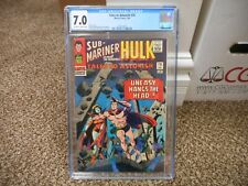 Tales to Astonish 76 cgc 7.0 Marvel 1966 Submariner and the Incredible Hulk ow/w