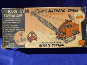 BIG JIM TWO IN ONE TOY CRANE