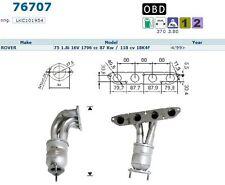 Pot catalytique Rover 75 1.8i 16V 118cv 18K4F 4/99>, antérieur OFFRE USINE