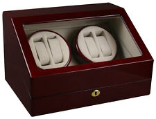 Winder (4) +6 Storage Box si14 New Top Quality Automatic Quad Watch