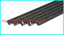2 X 20mm X 22mm X 500MM Carbon Fiber Tube 3K /Tubing/pipe Glossy For RC Quad US