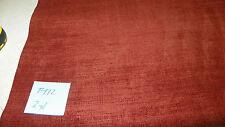 Brick Chenille Upholstery Fabric 1 Yard F972