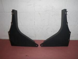 1995-2005 Pontiac Sunfire 2 dr Folding Back Seat / Trunk Opening Trim -dark gray