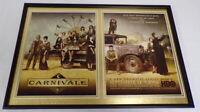 Carnivale 2003 HBO Framed 12x18 ORIGINAL Advertising Display