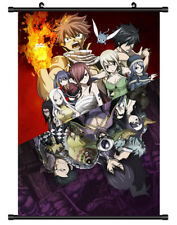 5743 Fairy tail Decor Poster Wall Scroll cosplay