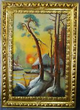 Beautiful oil painting signed and dated by Klever