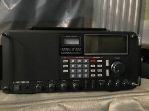 GRUNDIG SATELLIT 800 MILLENNIUM SHORTWAVE RADIO WORLD-BAND RECEIVER