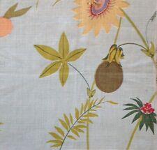 Raoul Textiles Secret Garden Robin's Egg Linen new remnant