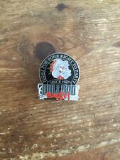 Bulldog Bash Badge Pin Big Red Machine Hells Angels 2010 Outlaw Biker 1%er