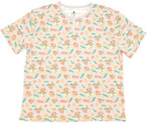 """New Disney Parks Orange Bird W/ Orange Slices """"Nice!"""" Grey Men's Henley T-Shirt"""