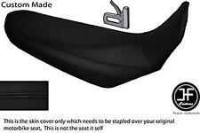 BLACK VINYL CUSTOM FITS YAMAHA XT 660 R 04-17 DUAL SEAT COVER