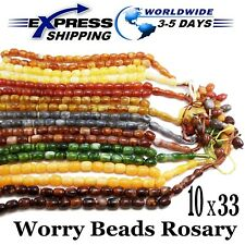 Lot 10 Tasbih Prayer 33 Handmade Worry Beads Misbaha Muslim Rosary Islamic Zikr