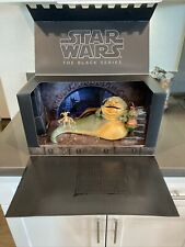 Star Wars Black Series Jabba the Hutt?s throne room SDCC - Excellent Condition!