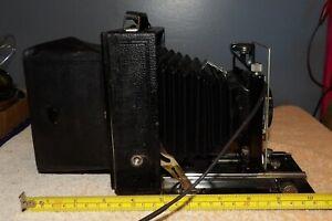 Zeiss Ikon Folding Camera w/ Ziess Jena Tessar 4.5 135mm Lens
