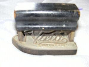 Antique Victa Miniature Cast Flat Iron