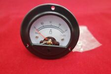 Dc 0 2a Round Analog Ammeter Panel Current Dia 664mm Dh52 Direct Connect