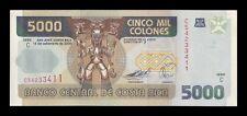 B-D-M Costa Rica 5000 Colones 2005 Pick 268Ab SC UNC