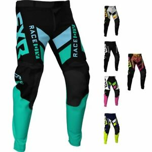 FXR Racing F21 Podium MX Men's Lightweight Breathable Motocross Gear Pant