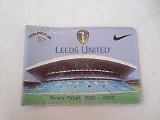 Leeds United Football Fixture Cards & Lists