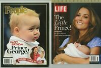 LIFE and People, Prince George Commemorative, First year in Pictures, 2 Mags