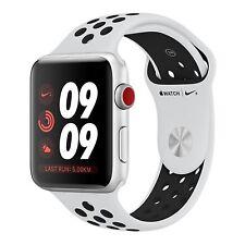BNIB 38Mm Apple Watch Nike+ Series 3 Silicone Strap 16GB Factory Unlocked 4G GSM