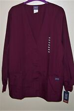 Cherokee Cardigan Warm Up Jacket~size Large Style # 4301 Color ~ Winw