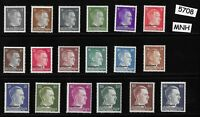 MNH Adolph Hitler stamp set / WWII Third Reich / Occupation Ostland Overprints