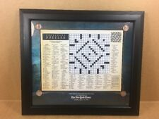The First Crossword Puzzle To Appear In The New York Times - Feb. 15, 1942 Frame