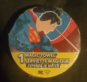 DC Universe - Superman - Magic Expanding In water Wash Cloth - 2020