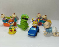 Rugrats Movie Vintage 90s Chucky Reptar Toy Figures Doll Lot 6pc Burger King