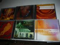 6 Pack of Jazz cd's Various artists total of 7 .Used