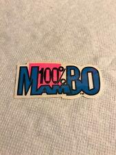 Vintage surfboard mambo sticker art deck Fin skateboard Australia clothes Nos
