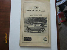 Ford Manual owners and operators cars and trucks published by Floyd Clymer