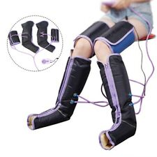 Air Compression Leg Massager Electric Circulation Foot Ankles Calf Relief Hot