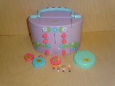 Polly Pocket mini Pullout Playhouse Schminke Schminkkoffer vanity case makeup