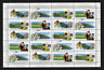 Canada Stamps — Full Pane of 20 — Scenic Highways #1650-1653 — MNH