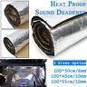 6mm/10mm Car Heat Insulation Shield Noise Deadening Sound Proofing Foam 100CM