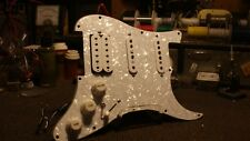 Loaded Strat HSS Pickguard with Gilmour switch treble bleed, New Program LPGTSTB