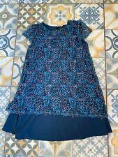 Zara Girls Blue Lace Dress Age 13/14 years