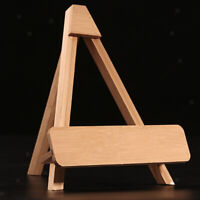 Creative Wood Display Stand Holder Easels For Plates Photos Tea Tray 2 Size