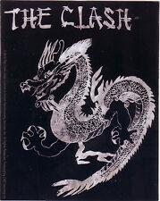 """Clash """"Dragon"""" Licensed sticker a very rare find"""