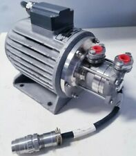 Ksb Sealless Chemical Pump 13hp 38 Npt 600 Lh Canned Motor